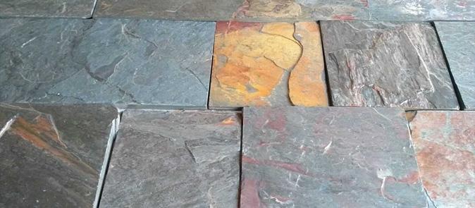 Pisan piedras naturales venta de piedras para - Piedra pizarra oxidada ...